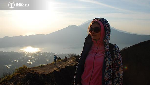На вулкане Батур