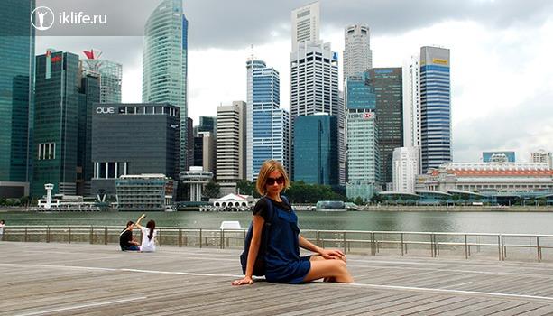 Ирина в Сингапуре