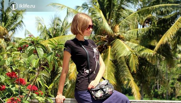 В деревне РД2 на Бали