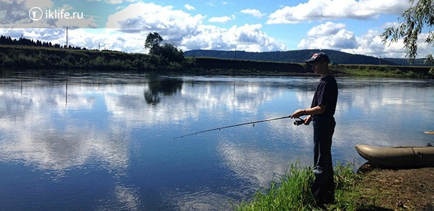 рыбалка на сылве