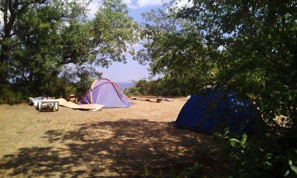 Летнии палаточные лагеря в Крыму