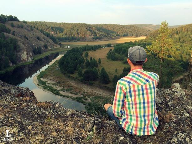Скалы Сарын-Таш, река Белая