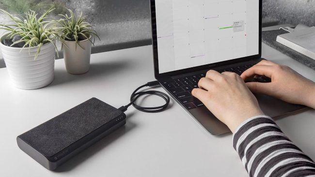 Подключение ноутбука к пауэрбанку