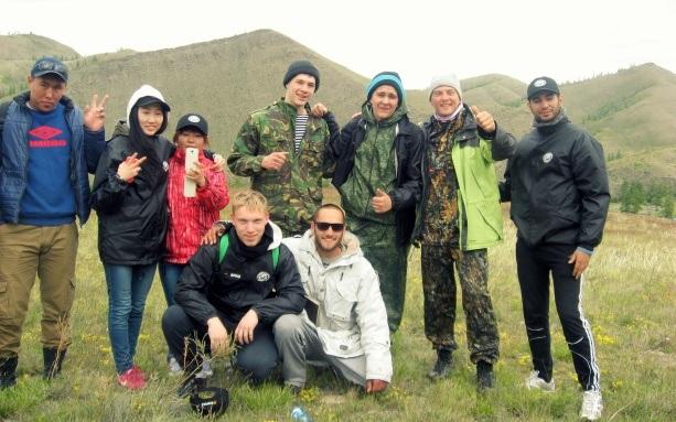 Калмыкия волонтеры