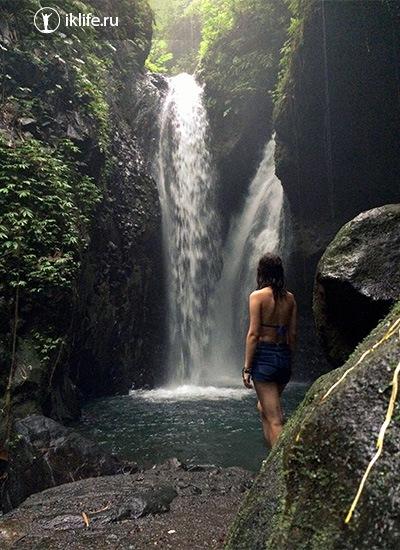 водопад Гид Гид на Бали
