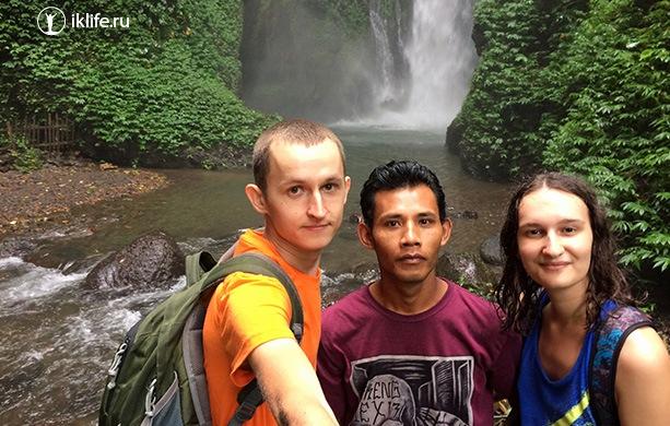 второй Гит Гит водопад