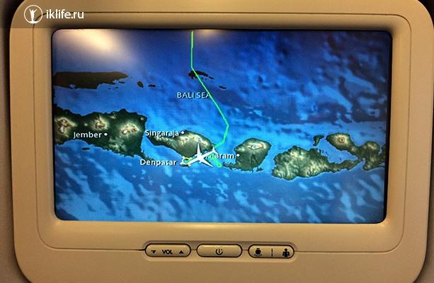 телевизор в самолёте