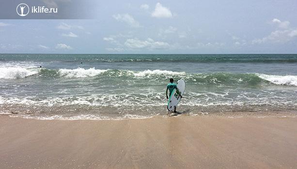 сёрфинг в куте на бали