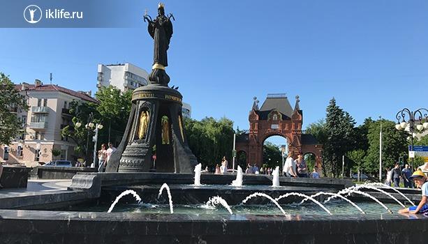 Памятник Святой Екатерине