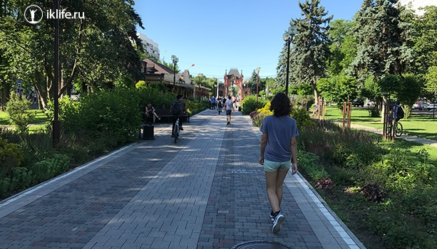 Улица Красная Краснодар