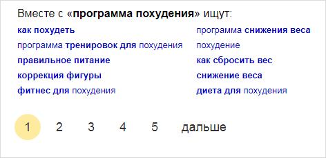 Ключи для ЛСИ в Яндексе
