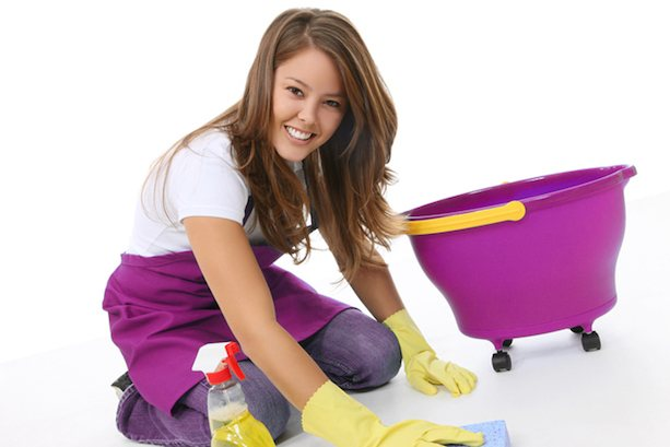 Работа уборщиком