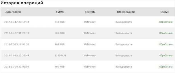 Заработано 3 795 рублей