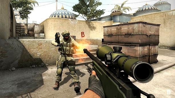 Игра-стрелялка CS:GO