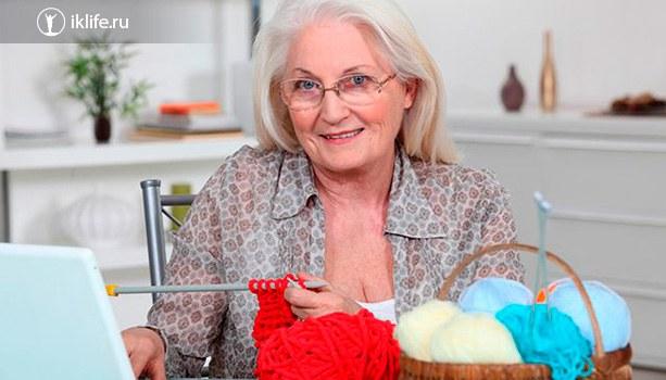 Вязание как бизнес для пенсионерки