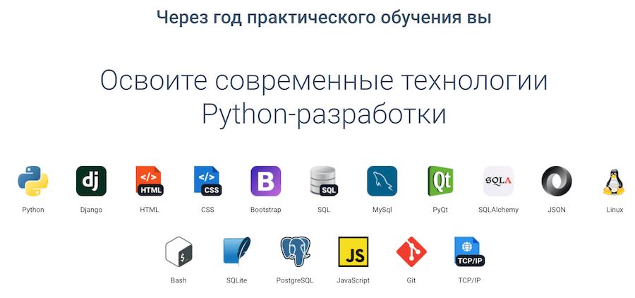 Курс по программированию на Python