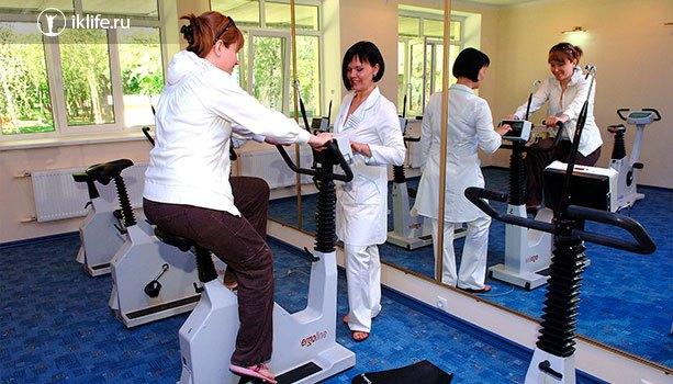 Медицинские услуги в санатории