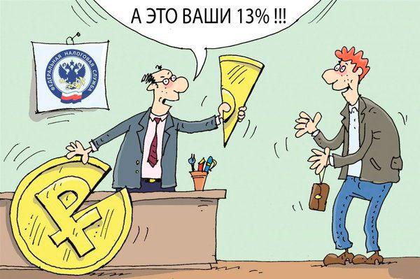 Расчет суммы возмещения подоходного налога