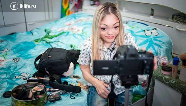 Видеоблогер – инвалид