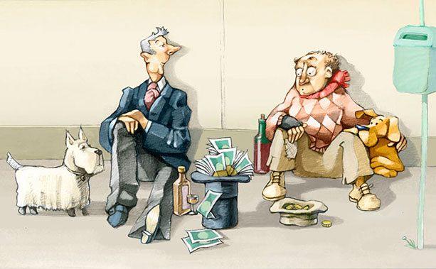 Почему одни бедные, другие богатые