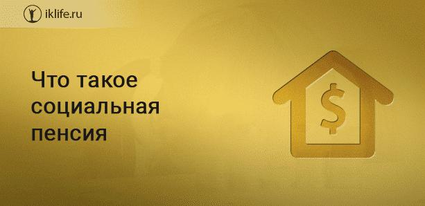 Что такое социальная пенсия и кто ее получает в России в 2020 году
