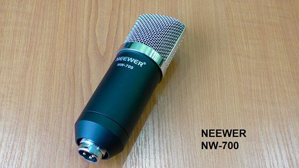 Конденсаторный микрофон с китайского сайта