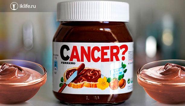 Вред и ложь о Nutella
