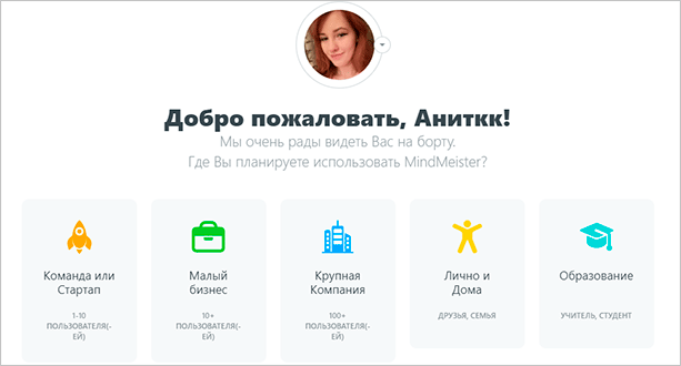 Цели на MindMeister