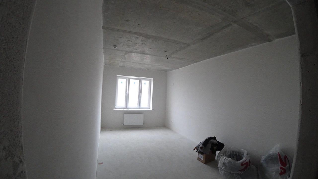 Спальня в черновой отделке Губернский