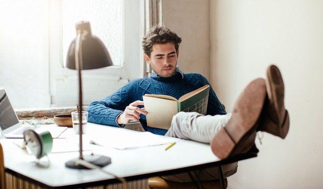 Чтение полезной книги