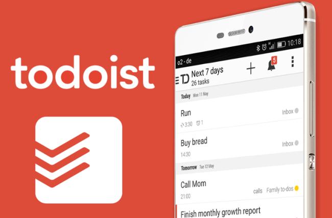Приложение Todoist