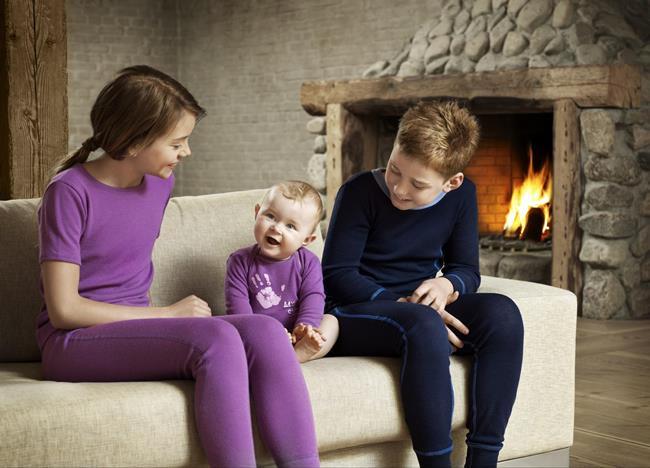 Детские модели термобелья