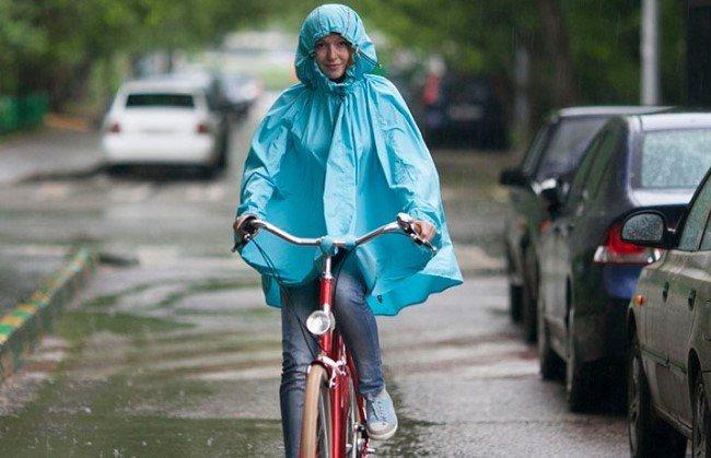 Накидка для езды на велосипеде