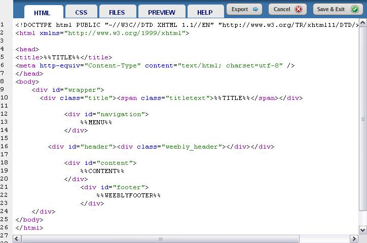 Как выглядит HTML