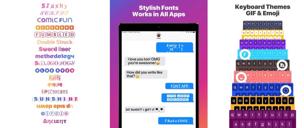 Fonts & Keyboard