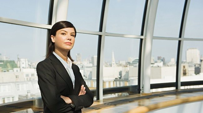 Сильная деловая женщина