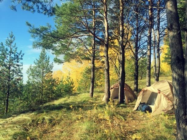 лагерь над кунгурской пещерой